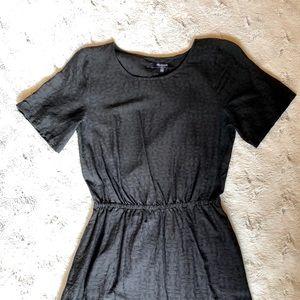 Madewell Dresses - MADEWELL short sleeve cinch waist dress, size S